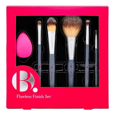 b flawless finish makeup brush set