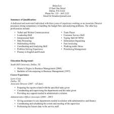 Sample Resume For Retail Salesssistant Manager Retailing