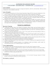 Amusing Sample Resumes Education Section In Sample Resume For High
