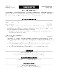 Career Goal For Resume Examples Accounting Resume Objective Samples