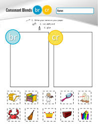 © contributed by leanne guenther. Br And Cr Blend Worksheet