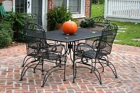 black wrought iron furniture. Wrought Iron Furniture Color Image Of Black Cast Outdoor Paint Colors For . A