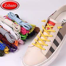 2019 <b>Strong Elastic Shoelaces No</b> Tie Shoe Laces Round Outdoor ...