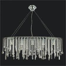 oval crystal chandelier crystal drop chandelier divine ice 32