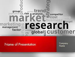 Powerpoint Template Research Market Research Word Cloud Powerpoint Template Backgrounds
