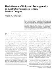 Activity 1 1 2 Design Principles And Elements Answer Key Pdf The Influence Of Unity And Prototypicality On Aesthetic