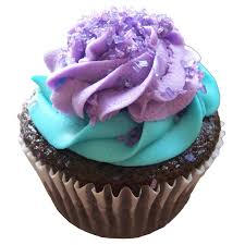 pretty purple cupcake. Delighful Purple Purple And Tiffany Blue Cupcakes Throughout Pretty Cupcake M