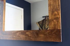 diy wood mirror frame. Exellent Diy Inside Diy Wood Mirror Frame M