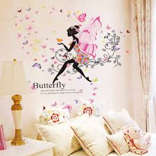 Small Picture Aliexpresscom Buy DIY Wall Sticker Butterfly Wall Decals Ballet