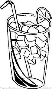 Juice Coloring Page Pages Coloring Pages