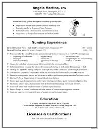 Nurse Resume Nurse Resume Registered Nurse Resume Samples Sample