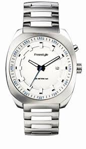 amazon com style men s fs40249 phospher stainless steel watch style men s fs40249 phospher stainless steel watch