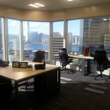 idea kong officefinder. central airconditioning layout of business center multiple workstations stunning sea view and city idea kong officefinder i