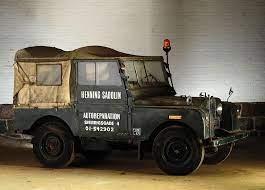 1952 Landrover Series 1 Silodrome Land Rover Series Land Rover Land Rover Defender