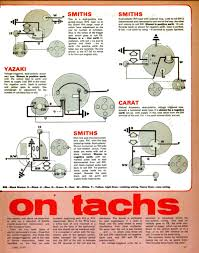 tachometers aka rev counters electrical instruments by where does the tachometer connect at Early Electronic Ignition System Diagram For Wiring A Tachometer