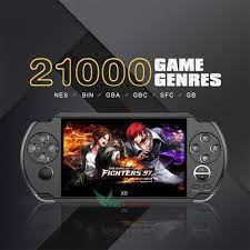 Máy Chơi Game Cầm Tay X9 Cho Tv Output NEW Updated 8GB PSP Handheld Game  Player 5 Inch Portable Game Console -dc3373
