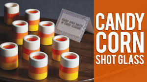 how to make candy corn shot glasses wilton