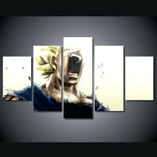 dragon ball z wall art 5 panel dragon ball z painting canvas wall art home decor on 5 panel giant dragon wall art canvas with dragon ball z wall art 5 panel dragon ball z painting canvas wall