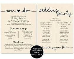 Wedding Ceremony Brochure Wedding Service Template