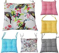 chair cushions amazon. comfortable seat pads, garden kitchen dining chair cushions many designs tie on (birds): amazon.co.uk: \u0026 home amazon w