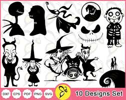Is scented with witch's brew, vampire's stew, and cinnamon sticks, which, although mysterious sounding, is a hit with customers. Nightmare Before Christmas Svg Bundle Nightmare Svg Etsy