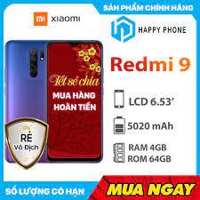 Điện Thoại Xiaomi Redmi 9 (4GB/64GB) - Hàng Chính Hãng giá cạnh tranh