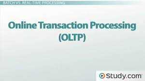 Transaction Processing Systems Tps Batch And Real Time Systems