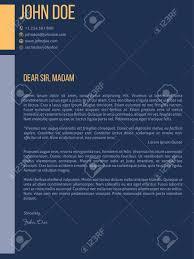 Simplistic Cover Letter Curriculum Vitae Cv Resume Template Design