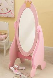 Princess Bed Blueprints Kidkraft 76137 Pink Princess Cheval Dress Up Mirror For Kids Girls