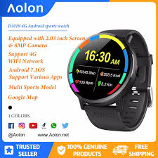 Aolon <b>D19 Smartwatch</b> Android 7.1 Game LTE 4G WIFI 2.03 Inch ...
