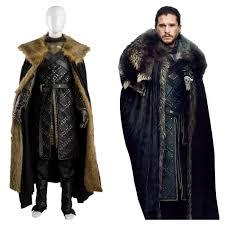 jon snow got 7 game of thrones season 7 outfit cosplay costume