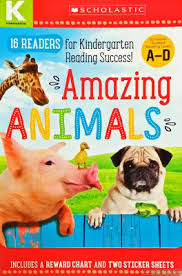Amazing Animals Kindergarten A D Reader Box Set