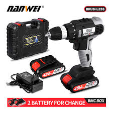 <b>21v cordless brushless</b> drill hot sale from NANWEI|Electric Drills ...