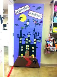 Classroom door decorations for halloween Scary Door Decoration For Halloween Fantastic Classroom Home Decor Ideas Door Decoration For Halloween Front Door Halloween Decorations Ideas