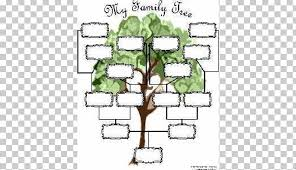Family Tree Tree Template Genealogy Family Tree Template Diagram Chart Png Clipart