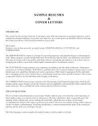 Cv Cover Letter Waiter Cocktail Waitress Cover Letter Sample