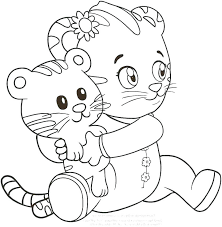 Printable Daniel Tiger Coloring Pages Irvinecarpetcleaninginfo