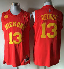 Nba 13 Red for Cheap Sale Hickory On wholesale Stitched Jersey Paul Pacers George