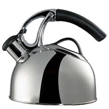 uplift tea kettle  induction compatible  polished stainless
