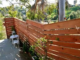 horizontal wood fence panels. Horizontal Privacy Fence Style Wood Panels