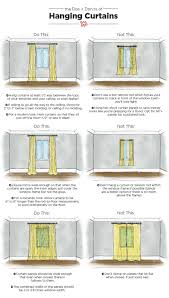Do's & Don'ts of Hanging Curtains: Tips & Measurments | Apartment Therapy