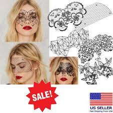 reusable black vinyl sticker eye mask