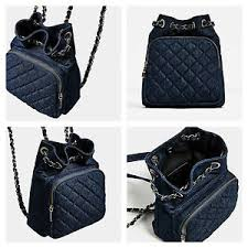 ZARA BLUE DENIM QUILTED MINI BACKPACK - REF: 8459/104 | eBay & Image is loading ZARA-BLUE-DENIM-QUILTED-MINI-BACKPACK-REF-8459- Adamdwight.com