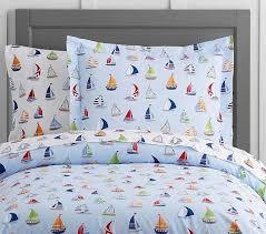 sailboat duvet cover