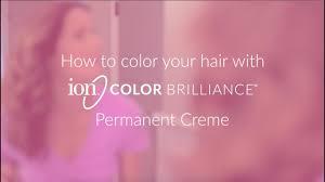 Ion Color Brilliance Permanent Hair Color