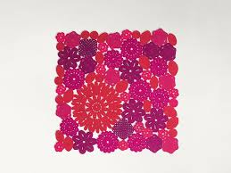 handmade square outdoor rugs crochet square rug by paola lenti