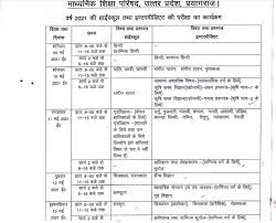 The central board of secondary. Up Board Exam 2021 From Revised Date Sheet To Upmsp
