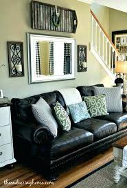 brown leather couch living room ideas. Brown Leather Sofa Decorating Ideas Living Room With Furniture Tips For . Couch O
