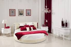 master bedroom colors 2013. Good Bedroom Colors Design 2013 : Red White With Oval Bed Master