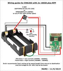 wst%2F2503846.dna200 2x18650 rpp dna200 with 2x 18650 rpp manuals, instructions, and tutorials on dna75 dual 18650 wiring diagram